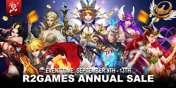 R2 Games Annual Sale - The Best Deals to Get Valuable Items in The Year