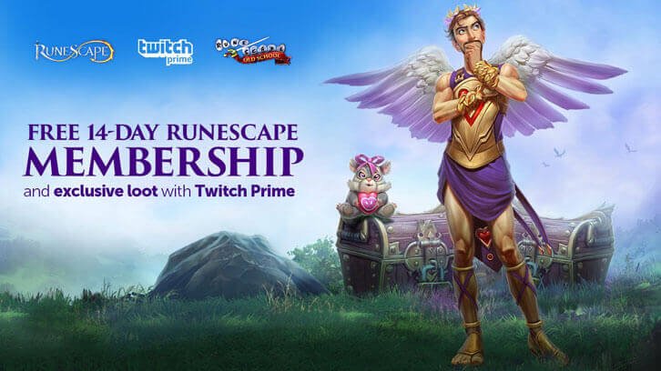 Twitch Prime Members to Receive Monthly Exclusive RuneScape Rewards Until February 2020
