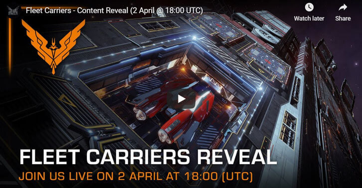 All hands on deck as Fleet Carriers jump into Elite Dangerous