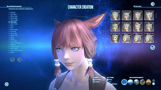 Final Fantasy XIV's Magnitude in Character Customization