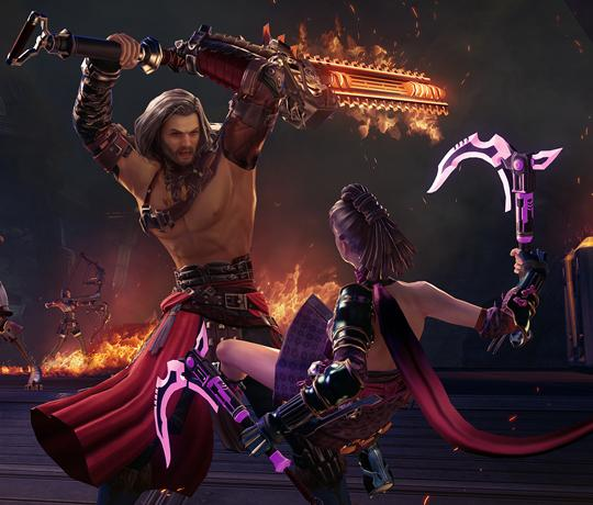Experience the Epic Combat in Skyforge