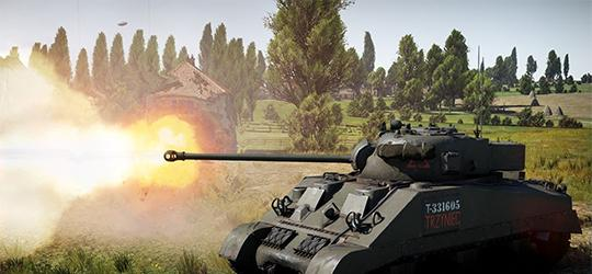War Thunder's new tank: the Sherman Firefly TRZYNIEC