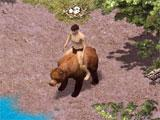 Bear mount in Wild Terra