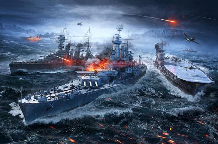 Conquer the Waves in World of Warships