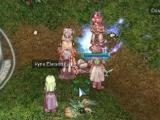 Playing with friends in Ragnarok Online