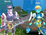UnnyWorld Character Selection