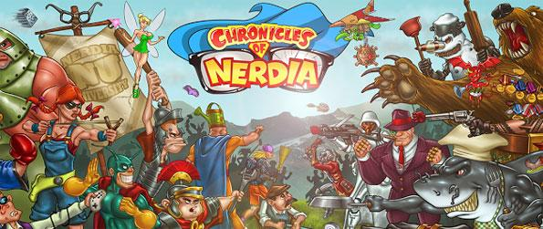 Chronicles of Nerdia - Take up the mantle of a self-made superhero and fight against crime and injustice in the neighborhood of Nerdia!