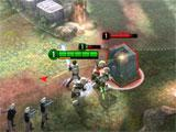 Star Wars: Force Arena taking down enemy turrets