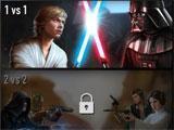 Star Wars: Force Arena main menu