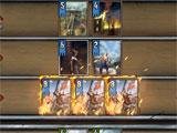 Gwent intense battle