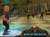 Facing up against enemy units in War of the Races Online