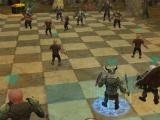 Large-scale battle in War of the Races Online