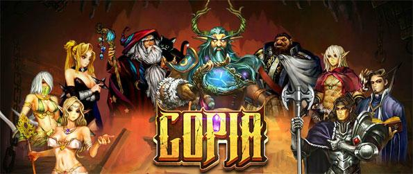 Copia - Rally the people of Landea and defeat the demon horde once again in this exciting MMORPG, Copia!