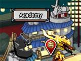 Ninja village in Ninja Saga