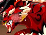 Boss fight in Ninja Saga