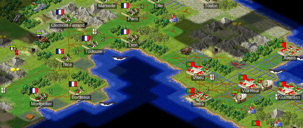 FreeCiv - Based on one of the most popular games ever made for detailed planning and strategic thinking.