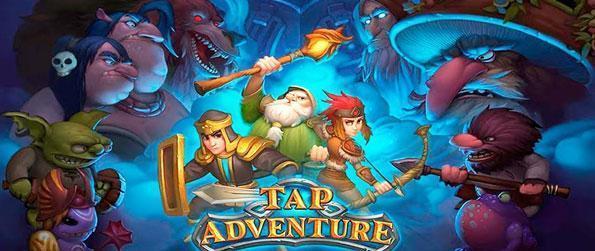 Tap Adventure: Time Travel - An intense RPG adventure as far as clicker games go.