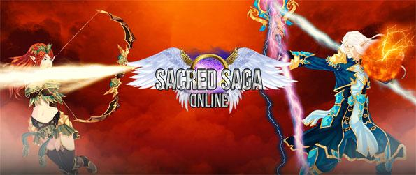 Sacred Saga Online - Play as Athena's chosen champion and defend the city of Athens from jealous gods and their minions in Sacred Saga Online!