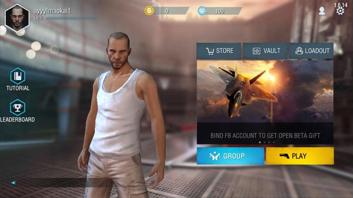 Free Fire Battlegrounds Plaza Mmo