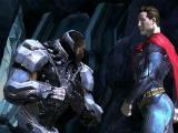 Superman vs Cyborg in Injustice: Gods Among Us
