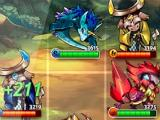Attacking in Monster Chronicles