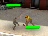 Bloody Z: Zombie Strike fighting zombies