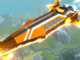 Dropship in Robocraft Royale