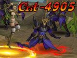 League of Angels 3: Auto-combat