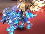 League of Angels 3: Fleet Wolf mount