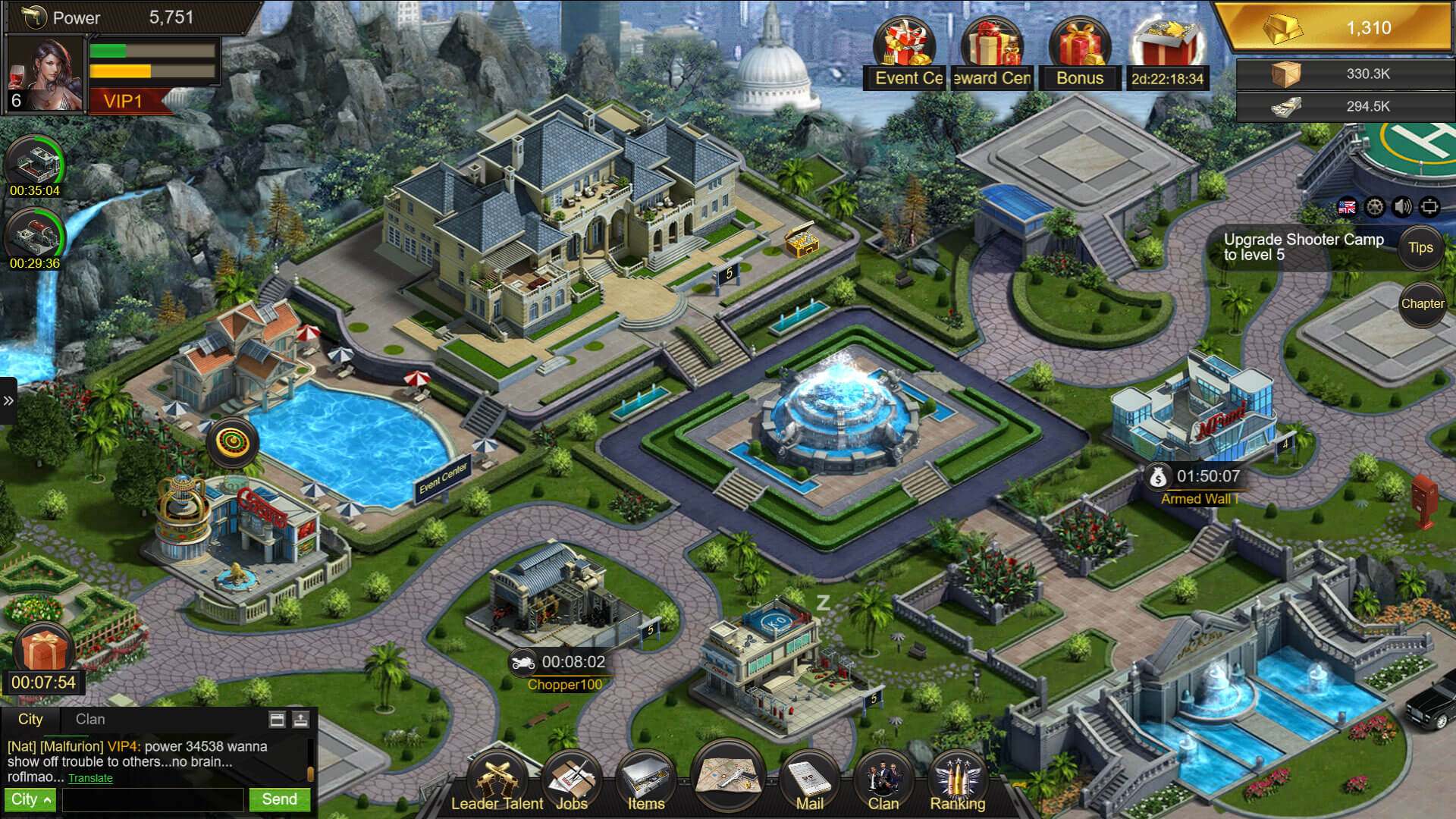 Mafia City H5 Game