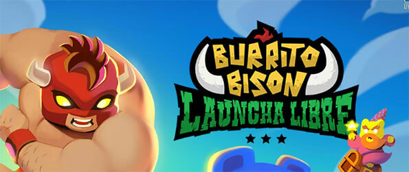Burrito Bison: Launcha Libre - Help Burrito Bison find his cookbook and destroy hordes of gummy bears in the process.