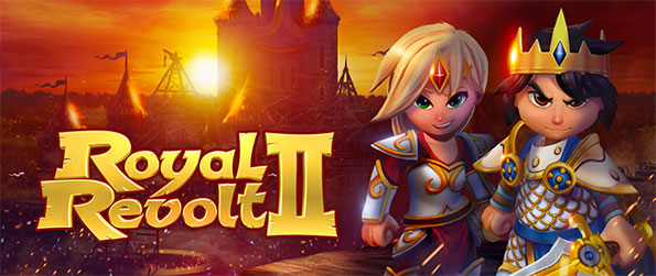 Royal Revolt 2 - Take your sword and command your troops into your enemies' castles to get their loot in Royal Revolt 2!