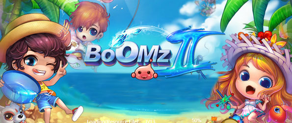 Boomz 2 - Featuring a cute chibi look, Boomz 2 is a fun arcade shooter that includes many of the social elements of a virtual world game.