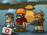 Lumberwhack: Battle many enemies