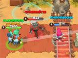 West Legends wrecking opponents