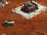 Defend your base in Mars Frontier