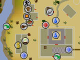 World map in Old School Runescape