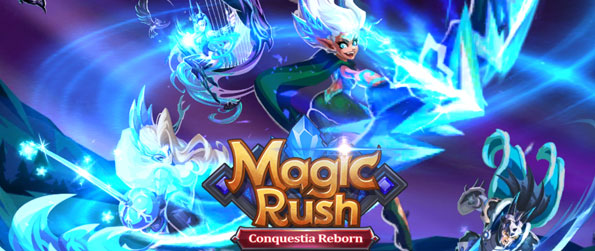 Magic Rush: Heroes - Summon powerful heroes with diverse abilities to defend your kingdom in Magic Rush: Heroes!
