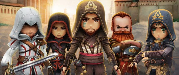 Assassin's Creed Rebellion - Put a stop to the Templars' nefarious plans by taking on missions to cripple their operations in Assassin's Creed Rebellion!