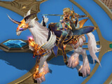 Queen of Dragons: Cool horse mount