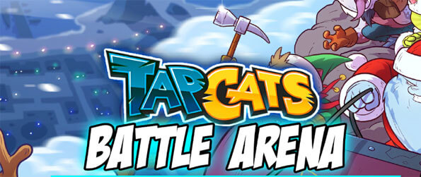 Tap Cats: Battle Arena - Build up your card deck with powerful cat fighters to back you up in battle.