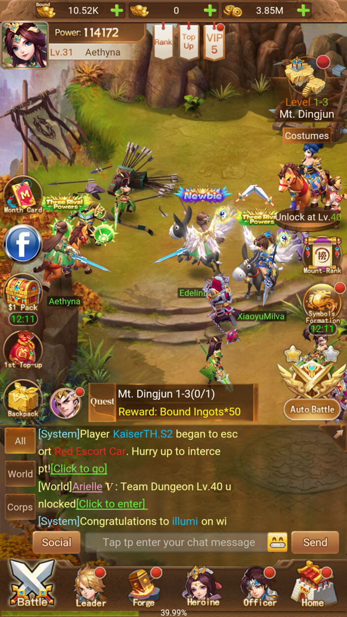 Three Kingdoms - Idle Games Review - MMO Square