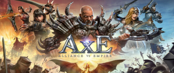 AxE: Alliance vs Empire - Jump into the world of AxE: Alliance vs Empire and choose your faction and select your characters.