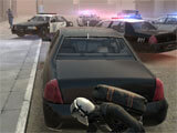 Armed Heist hiding behind cover