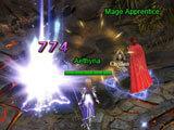 Darkmoon Realm: Mob combat