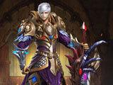 Warrior class in Darkmoon Realm