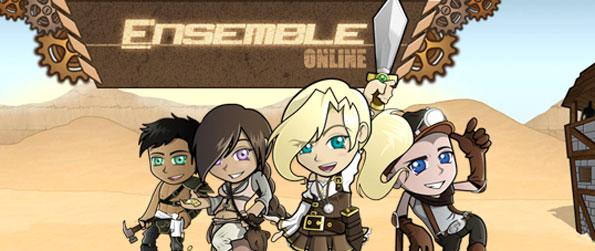 Ensemble Online - Enjoy a Sandbox building, mmo and rpg game all in one!