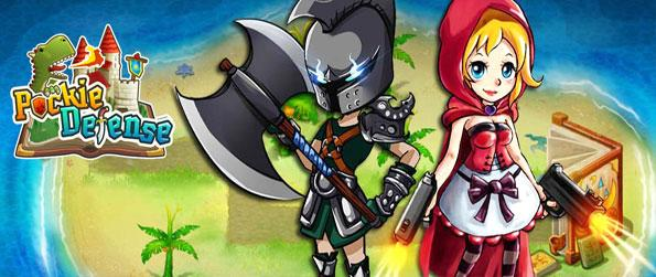 Pockie Defense - Defend your magical kingdom in one of the best new tower defense games.