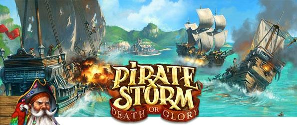 Piratestorm - Take ship and sail the seas in a fantastic new pirate themed mmo game.