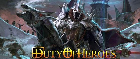 Duty of Heroes - Enjoy a brilliant new turn based MMO RPG with some fun new elements to it.